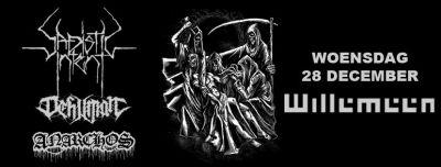 Sadistic Intent +Dehuman + Anarchos