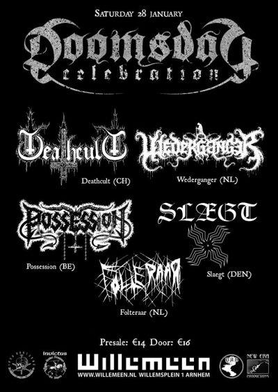 Possession / Wederganger / Deathcult / Slægt / Folteraar
