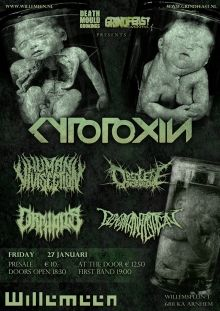 Cytotoxin / Orphalis / Human Vivisection and more