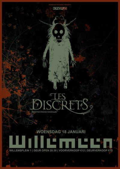 Les Discrets (FR) + Aestrid at Willemeen