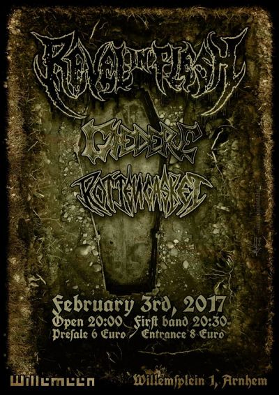 Revel In Flesh (DE), Caedere, Rotten Casket