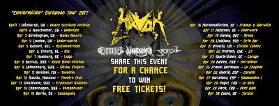 Havok / Exmortus / Warbringer / Gorod at 013