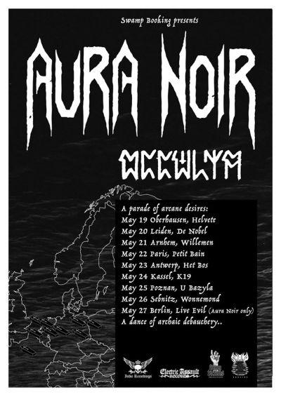 AURA NOIR + OCCCVLTA