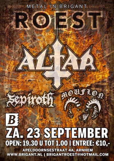 ROEST , met ALTAR , Sepiroth, Mouflon
