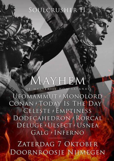 SOULCRUSHER II :MAYHEM  De Mysteriis Dom Sathanas