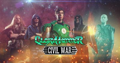 GLORYHAMMER (UK) + CIVIL WAR (SWE) + DENDERA (UK)