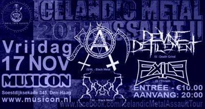 Icelandic Metal Assault tour