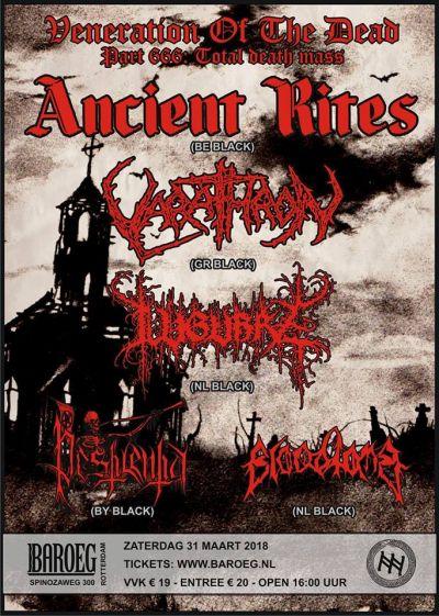 Veneration Of The Dead VI: Ancient Rites, Varathron + 3 | Baroeg