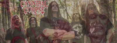 CANNIBAL CORPSE +support