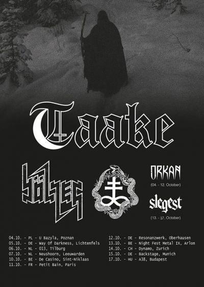 Taake, Bölzer, One Tail One Head, Orkan