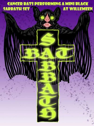 Cancer Bats (CAN) + Bronco+ Bat Sabbath  in Willemeen