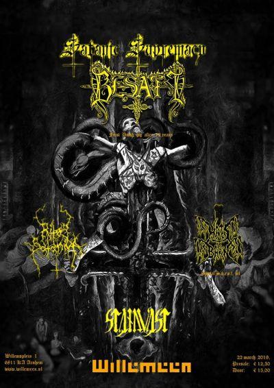 Satanic Supremacy: Besatt, Hats Barn, ea