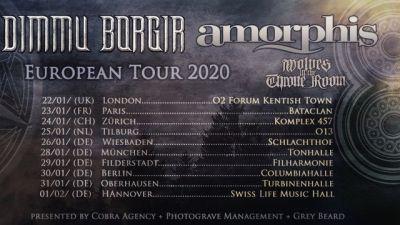Dimmu Borgir, Amorphis, Wolves In The Throne Room // 013 Tilburg
