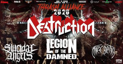 Thrash Alliance: Destruction + more // 013 Tilburg