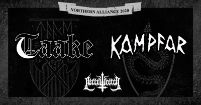 Taake, Kampfar, Necrowretch in Willemeen