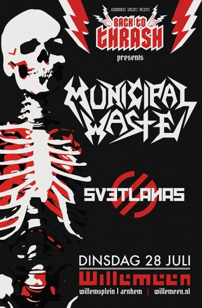 Back To Thrash met: Municipal Waste (excl NL show) in Willemeen